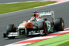 Formel 1 - YD-Tests: Sutil und Di Resta im Force India