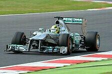 Formel 1 - Rosberg gewinnt Großbritannien GP
