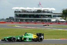 Formel 1 - Caterham vs. Marussia: Pic setzt Highlight