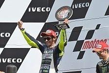 MotoGP - Alle freuen sich für Rossi