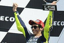 MotoGP - Rossi und Lorenzo von Medien gefeiert