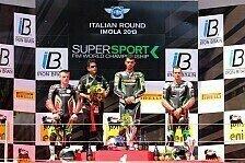 Bikes - WSS - Sofuoglu, Lowes und Leonov nach dem Rennen