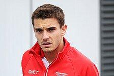 Formel 1 - Bianchi muss 2. Training abbrechen