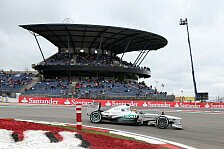 Formel 1 - 1. Training: Hamilton in der Eifel vor Rosberg