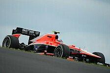 Formel 1 - Chilton: Gefühl besser als die Zeiten