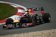 Formel 1 - 3. Training: Vettel-Bestzeit in der Eifel