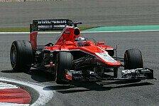 Formel 1 - Kranker Bianchi hat Chilton im Griff