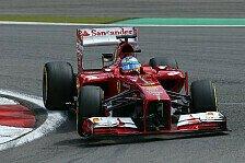 Formel 1 - Alonso bereit für Silverstone