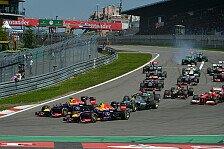 Formel 1 - Medien: F1 bis 2019 jährlich am Nürburgring