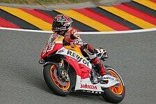 MotoGP - 3. Training: Marquez voran, Pedrosa stürzt schwer