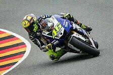 MotoGP - Rossi: Happy über Reihe eins