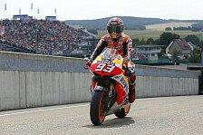 MotoGP - Marquez im Warmup voran