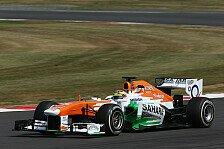 Formel 1 - Calado offiziell Force-India-Testfahrer