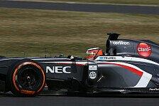 Formel 1 - Hülkenberg mit Testtag zufrieden