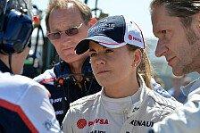 Formel 1 - Susie Wolff: Wie geht es weiter?