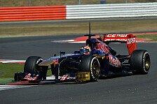 Formel 1 - Kvyat fährt für Toro Rosso in Austin