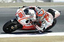 MotoGP - De Angelis mit Steigerung zufrieden