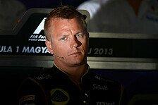 Formel 1 - Kimi Räikkönen unter vier Augen