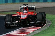 Formel 1 - Bianchi: Sind nicht, wo wir sein wollen
