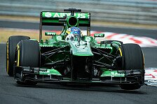 Formel 1 - Caterham hat in Ungarn die Nase vorne