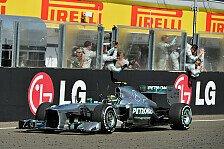Formel 1 - Hamilton feiert ersten Sieg für Mercedes