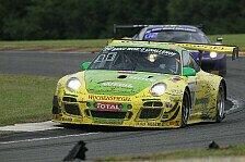 Blancpain GT Serien - Porsche in Spa: In Schlagdistanz zum Flügeltürer