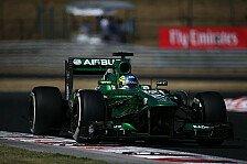 Formel 1 - Caterham: Melbourne war der Tiefpunkt