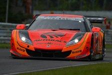 Super GT - Super GT in Murata: Honda siegt im Regenchaos