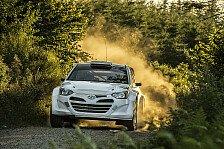 WRC - Video: Hyundai i20 WRC-Test