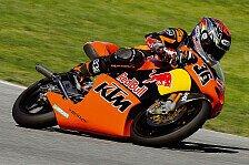 MotoGP - Rennen 125cc: Thomas Lüthi gewinnt die Reifenlotterie