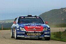 WRC - Korsika, Tag 1: Loeb baut Vorsprung aus