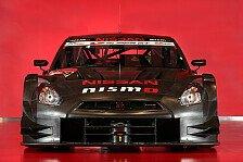 Super GT - Video - Nissan testet am eisigen Fuji
