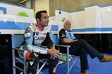 MotoGP - Auspuff, Trinkbeutel, Reifen - Petrucci im Pech