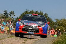 WRC - Video - Kubicas Test vor der Rallye Deutschland