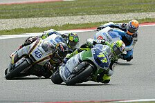 Moto2 - Aegerter war in Schlussphase chancenlos