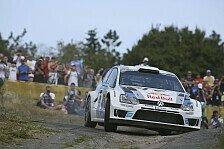 WRC - Deutschland: Ogier führt nach Auftakt-Prüfungen