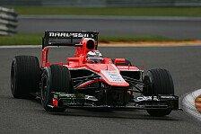 Formel 1 - Bianchi: Es ist frustrierend