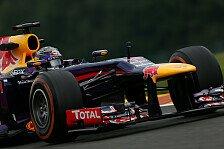 Formel 1 - 2. Training: Vettel markierte Bestzeit