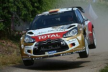 WRC - Sordo übernimmt die Spitze