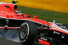 Formel 1 - Marussia in Spa ohne Chance