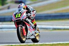 Moto2 - Verletzter Cortese: ins Ziel gebissen