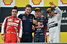 Formel 1 - Bilder: Belgien GP - Podium