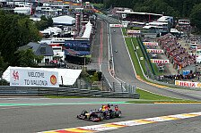Formel 1 - Topspeeds in Spa: Red Bull überrascht