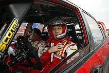 WRC - Mitsubishi kam noch nicht richtig in Fahrt