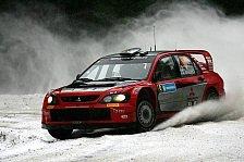 WRC - Aktives Differential für Mitsubishi
