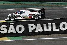 WEC - Unterbrochene Quali: Audi lässt Muskeln spielen