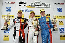 ADAC Formel Masters - Schiller gewinnt drittes Rennen