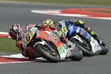 MotoGP - Kurvenbeschleunigung bremst Bradl aus