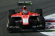 Formel 1 - DRS- und Betankungsprobleme bei Marussia