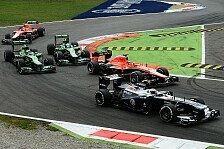 Formel 1 - Auf und Ab bei Marussia in Monza